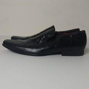 Steve Madden Sligh Patent Leather Loafers Size 11